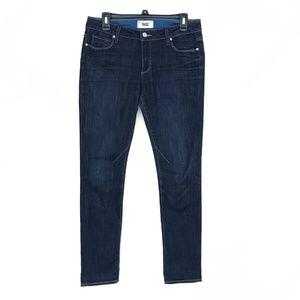 Paige Troy Boy Caroline Dark Wash Jeans